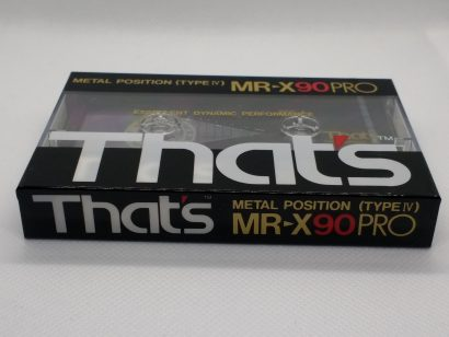 That's MR-X90PRO - Blank Metal Audio Cassette Tape