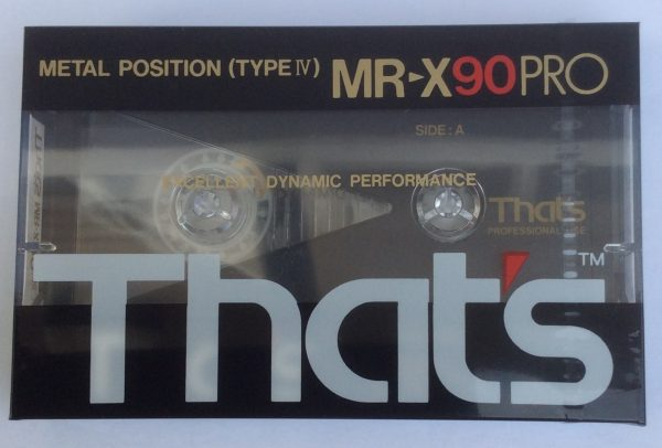 That's MR-X90PRO - Blank Metal Audio Cassette Tape