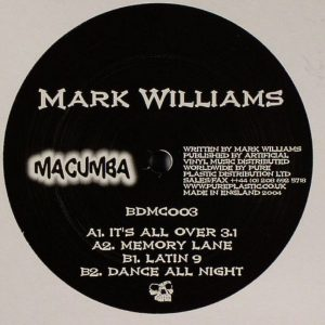 Mark Williams - It's All Over 3.1