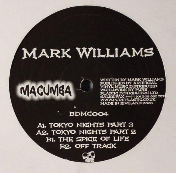 Mark Williams - Tokyo Nights
