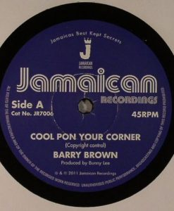 Barry BROWN - Cool Pon Your Corner