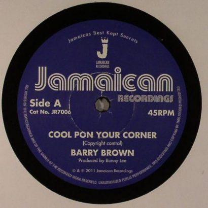 Barry BROWN - Cool Pon Your Corner