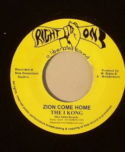 The I KONG - KING TUBBYS - Zion Come Home