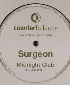 Surgeon - Midnight Club Tracks I vinyl