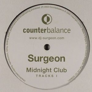 Surgeon - Midnight Club Tracks I vinyl