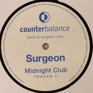 Surgeon - Midnight Club Tracks II vinyl