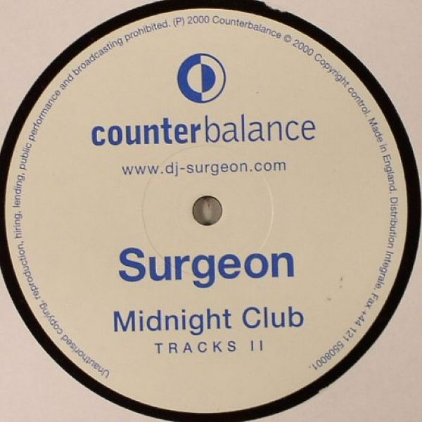 Surgeon - Midnight Club Tracks II vinyl