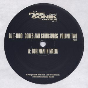 DJ T-1000 ‎– Codes And Structures Volume Two 1