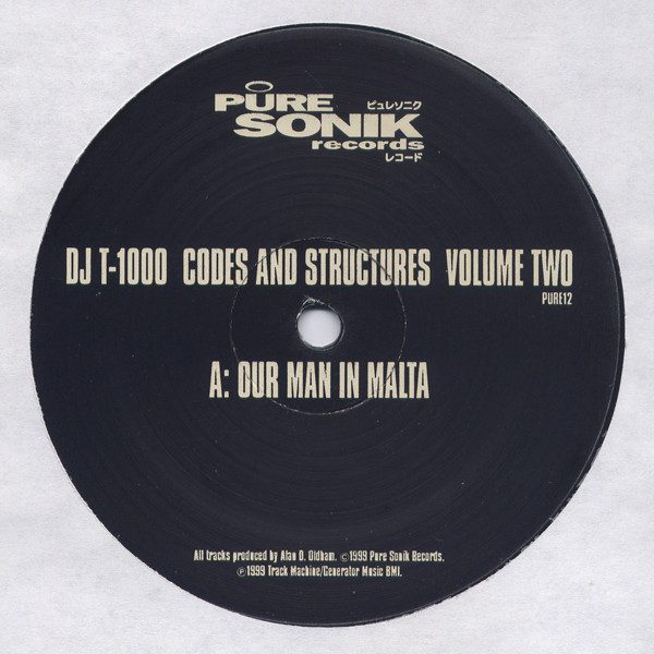 DJ T-1000 ‎– Codes And Structures Volume Two