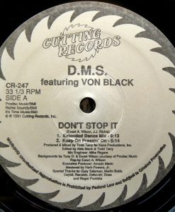 DON'T STOP IT -CUTTING RECORDS - VINYL 12 INCH - CR-247