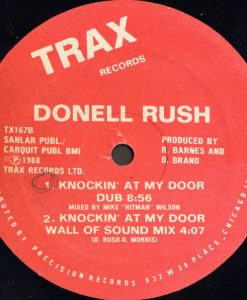 Donell Rush ‎– Knockin' At My Door