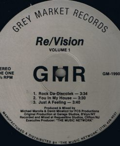 Re Vision ‎– Volume 1 - Grey Market Records