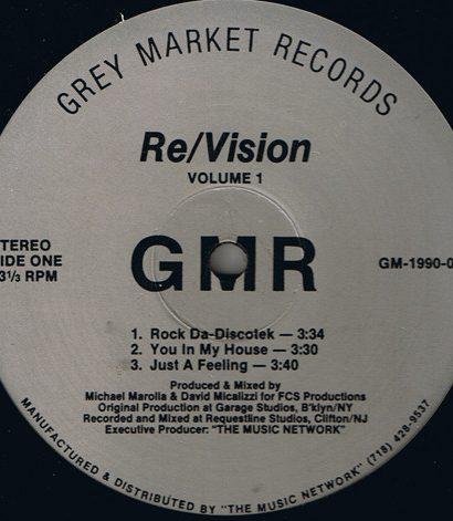 Re Vision – Volume 1 - Grey Market Records