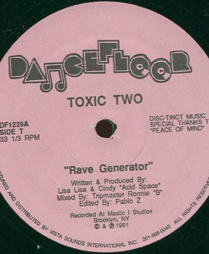 Toxic Two – Rave Generator - Acid Flash