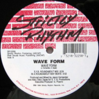 Wave Form ‎– I Go Around - Wave Form - strictly rhythm