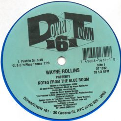 Wayne Rollins ‎– Notes From The Blue Room