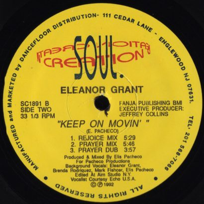 Eleanor Grant ‎– Keep On Movin