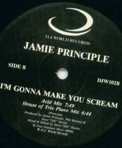 Jamie Principle ‎– I'm Gonna Make You Scream