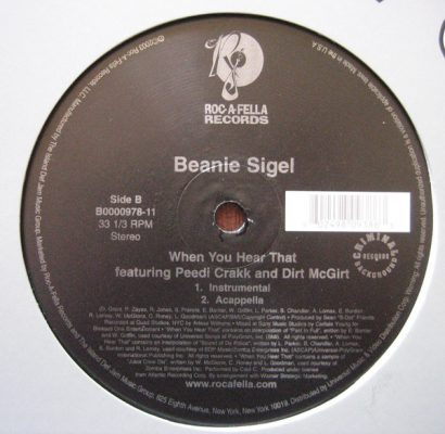 Beanie Sigel ‎– When You Hear That