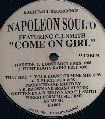 Napoleon Soul O Featuring C.J. Smith – Come On Girl
