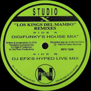 Studio X ‎– Los Kings Del Mambo (Remixes)