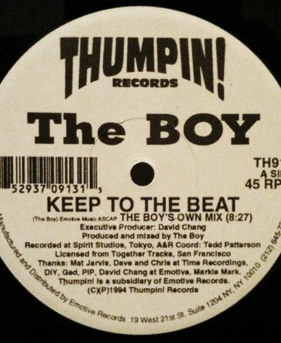 The Boy ‎– Keep To The Beat