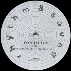 Rhythm & Sound - Paul St. Hilaire ‎– Music A Fe Rule