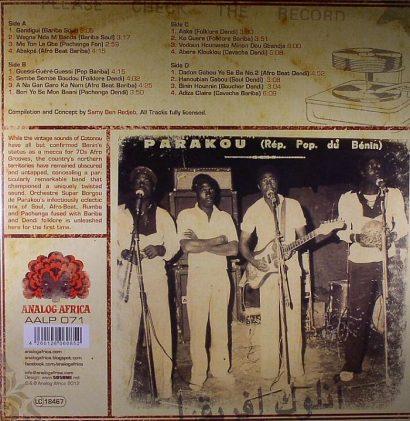 Orchestre Super Borgou De Parakou – The Bariba Sound 1970-1976