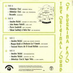 Various – The Original Sound Of Burkina Faso b