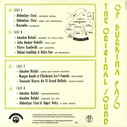 Various ‎– The Original Sound Of Burkina Faso b