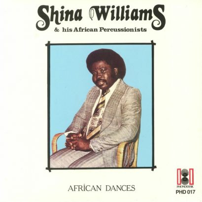 Shina Williams & His African Percussionists ‎– African Dances