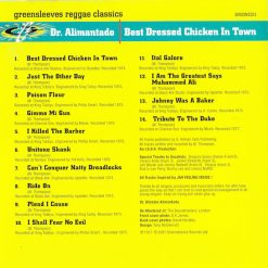 Dr Alimantado ‎– Best Dressed Chicken In Town