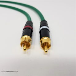 RCA Phono Gold Plated Hi Fi Interconnect Van Damme Cable